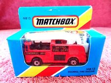 MATCHBOX  1981  MB 13  SNORKLE  FIRE  ENGINE   MADE IN MACAU  UNOPENED
