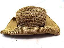 Target Women's Cowboy Western Hat Size One Size, Brown Straw