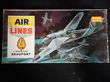 Air Lines - Bristol Beaufort Torpedo Bomber (1:72)