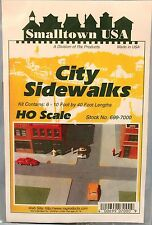Smalltown USA/RIX -HO #699-7000 City Buildings -- Sidewalks (Pkg 6) NIB