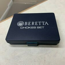 Beretta Shotgun 12 or 20 Gauge Bore Choke Case Box for Clay or Field Shooting