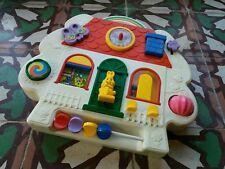 ☆ jouet ancien tableau d'éveil style fisher price activity center vintage deco
