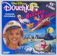 Walt Disney 45 tours Bernard et Bianca Douchka 1977