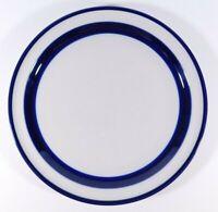 Noritake Fjord Blue Band B951 Stoneware Dinner Plate 10 1/2'' Free Shipping