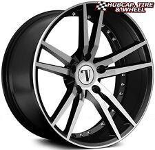 "Velocity VW20 V20 Black Machined 18""x7.5 Custom Wheel (ONE Rim) FREE Ship"