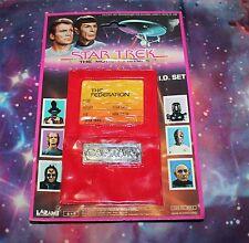 Star Trek ID Set 1979 Sealed 6x9 Costume Memorabilia