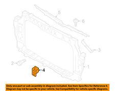 KIA OEM Rio Radiator Core Support-Headlight Headlamp Bracket Left 641721W000