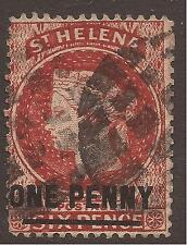 Used Single St Helenian Stamps