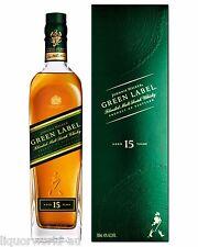 Johnnie Walker Green Label 15 Year Old Blended Malt Scotch Whisky 700ml