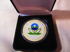 ENVIRONMENTAL PROTECTION AGENCY (EPA) Challenge Coin w/ Presentation Box
