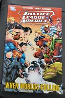 Justice League of America WHEN WORLDS COLLIDE New RARE Graphic Novel TPB JLA DC