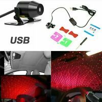 Car Interior USB Atmosphere Lamp Ambient Starry Sky Star Light Mini Projector