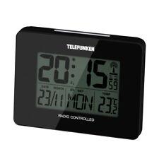 Wecker Funkwecker digital blackTemperatur Kalender TELEFUNKEN FUD-40 (A) B-Ware