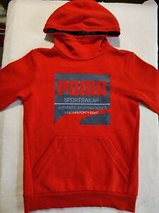 Puma Kids Sweatshirt Pullover Hoodie Age 13-14 Height 164cm.