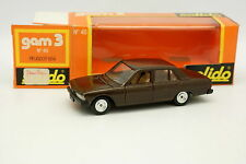 Solido 1/43 - Peugeot 604 Brown 40
