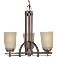 Progress Lighting Riverside Collection 3-Light Heirloom Chandelier