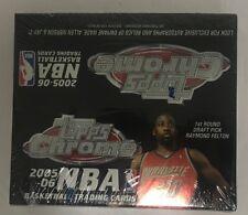2005-06 Topps Chrome Basketball Factory Sealed 24 Pack Box