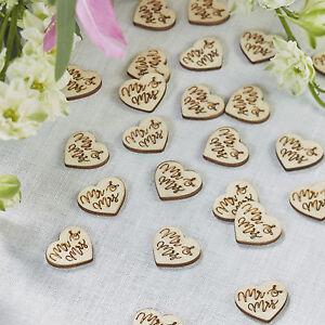 Mr & Mrs Wedding Table Decoration - Table Confetti
