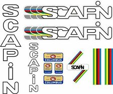 Scapin Bicycle Frame Decals Cycle Stickers Graphic Adhesive Set Vinyl