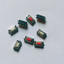 10x SMD Microtaster Push Button micro switch _ 3x6x2.5mm