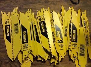 """Dewalt saw zall blades, 6"""", 134 in pack, vary blades"""