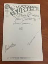 Superman the Wedding Album #1 Dynamic Forces signed with COA NM DC Comics