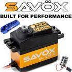 Mega Combo - Savox SC-1256TG Servo + Glitch Buster + Aluminun Horn
