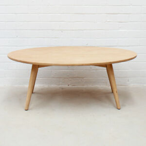 Retro Modern Design Natural Timber Mango Wood Coffee Table Kiruna