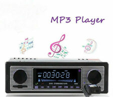 Vintage Car Bluetooth Radio Mp3 Player Stereo Usb/Aux Classic Stereo Audio Fm