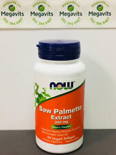 NOW Foods Saw Palmetto Extract 320mg 90 Veg Softgels. Short Date Sale! Exp 11/17