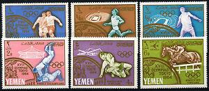 Yemen 1965 SG#R123-8 Winners Of Olympic Games 1964 MNH Set #D33830