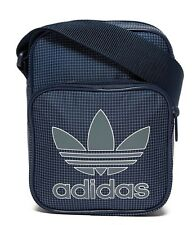 adidas Originals shoulder Mini SMALL messenger bag (BLUE/GREY) 100% genuine!!