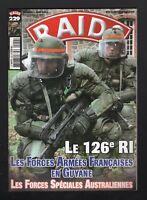 RAIDS FRENCH MILITARY MAGAZINE No 229  JUNE 2005