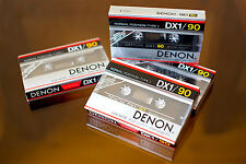Denon DX1-90 sealed cassette tape (1). Made in Japan.NEW. RARE!