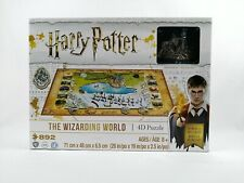 Harry Potter The Wizarding World 4D Puzzle 892 Pieces 3 Layers Collector New