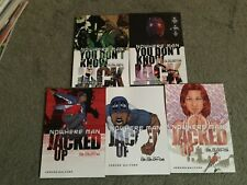 5 Jacked Up Graphic Novels/tpb lot*OOP!