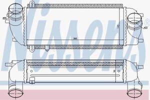 NISSENS 96537 Intercooler Caricabatterie
