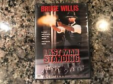 Last Man Standing Dvd! 1996 Thriller! Millers Crossing Trespass State Of Grace
