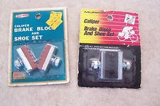 Vintage Murray & All Pro Caliper Brake Block And Shoe Set still in package NOS