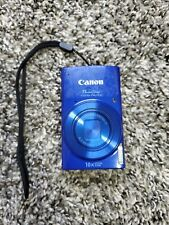 Canon PowerShot ELPH 190 IS 20mp 720p HD Digital Camera (working)
