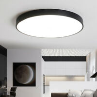 LED Ceiling Light Round Flush Mount Fixture Lamp Kitchen Bedroom Lighting 18-48W