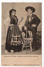 PORTUGAL Costumes coutumes MINHO Conversados deux amoureux