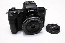 Canon EOS M50 24.1MP Mirrorless Digital 4K Camera + Extras !