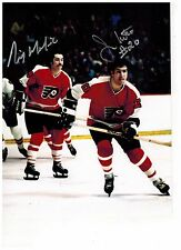 RICK MACLEISH AND JIMMY WATSON Flyers signed 8x10 Photo COA