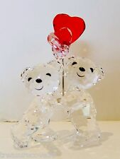 "SWAROVSKI "" KRIS BEAR  "" HEART BALLOONS "" ,  #5185778 ,    MOTHER'S DAY SPECIAL"
