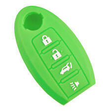 New Green Silicone SMART Remote KEY covers case fit for NISSAN 370z 350z