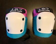 New listing 187 Killer Knee Pads - Blue & Pink - S/M