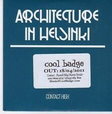 (CE454) Architecture in Helsinki, Contact High - 2011 DJ CD