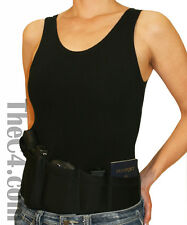Concealed Carry Holster Tank Top for Women- Black Size Medium, Made in America