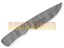 "9"" long HANDMADE DAMASCUS Steel Blank Blade HUNTING KNIFE Full Tang. YB-208"